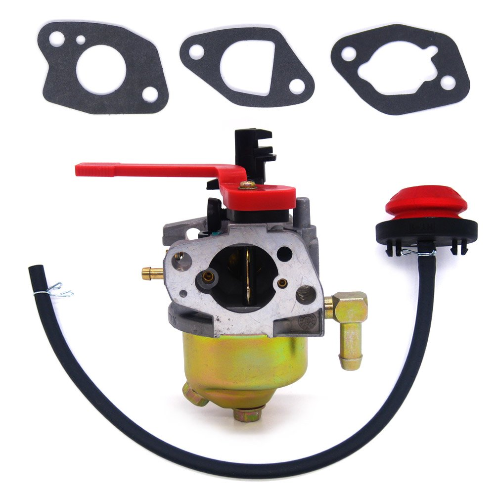 FitBest New Carburetor for MTD, Cub Cadet & Troy Bilt Snow Blower Thrower 751-10956A / 951-10956A Huayi 161S 161SA
