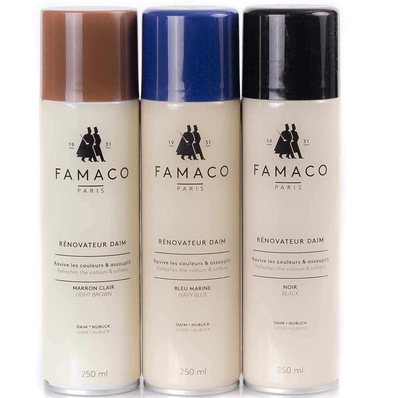 meilleur site web b4e43 8f765 FAMACO nubuck daim et raulederspray farbset 3 pièces 250 ml ...