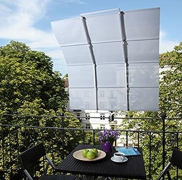 Sonnenschutz Balkon sonnensegel balkon verschattung klemm markise beschattung