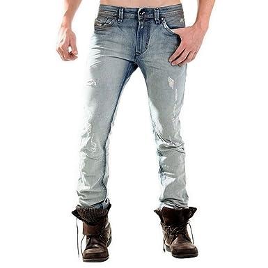 c45345ed2abd DIESEL Herren Jeans, Modell: THAVAR 0827W, Passform: Slim-Skinny ...