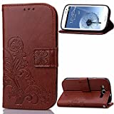 Samsung Galaxy S3 Case Leather, Case for S3 blue, Galaxy S3 Wallet Case, Samsung S3 Case, Galaxy S3 Cases for women,Phone Samsung Galaxy S3 flip Case folio