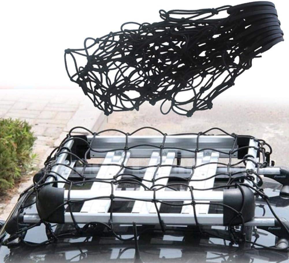 Auto-Universal Engere Gep/äckaufbewahrung elastisches Netz Ladefl/ächen Bungee Auto Gep/äcknetz Pickup Ausdehnungen Zubeh/ör Anh/änger