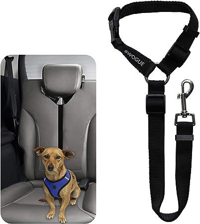seguridad Ajustable Resistente a 2 Pack Correa Premium de Asiento de Coche para Perros Gatos Mascotas