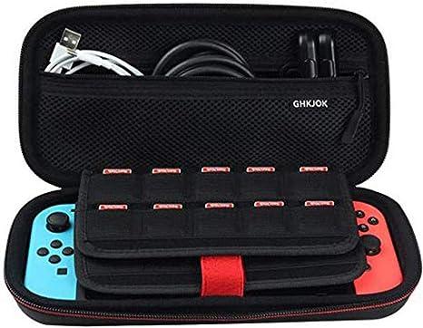 Blxecky Funda para Nintendo Switch Transporte Ligera Case con Más ...