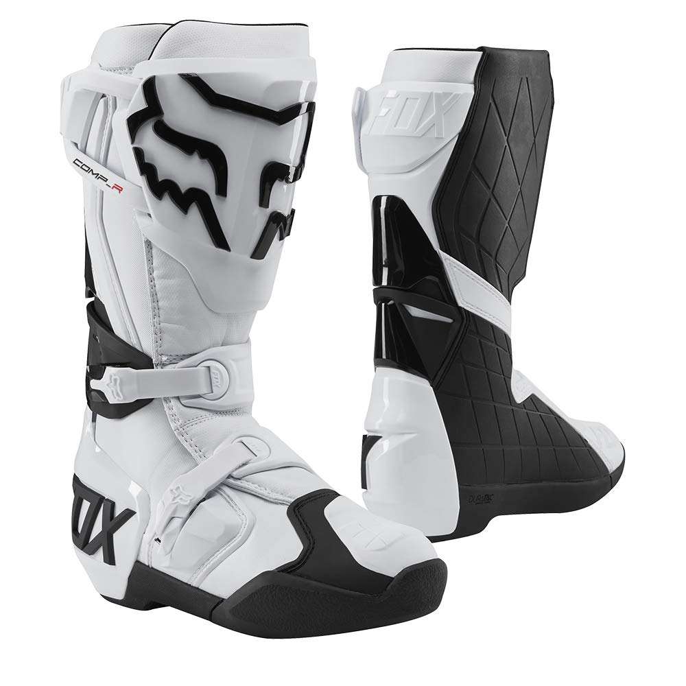 2020 Fox Racing Comp R Boots-White-11