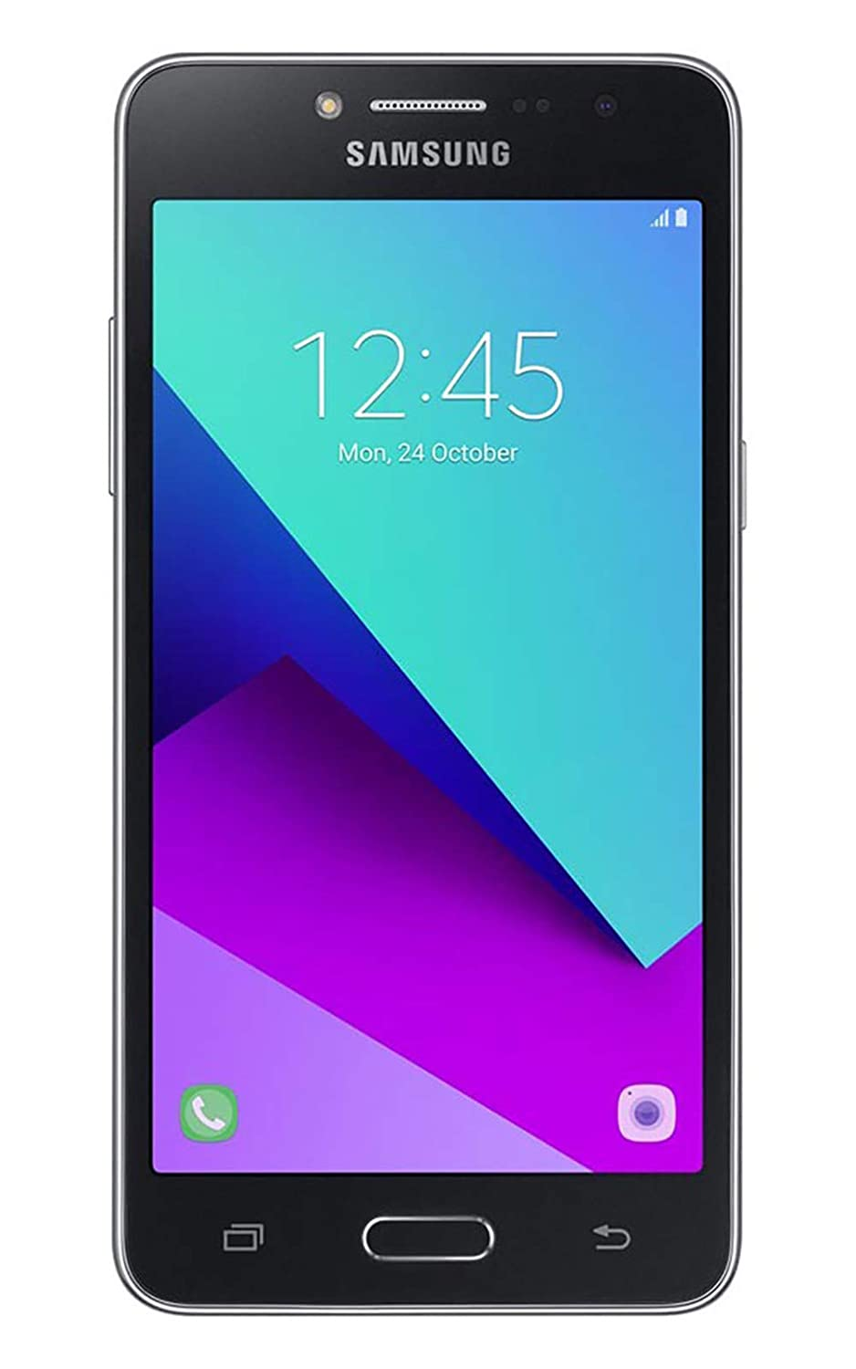 "Samsung Galaxy J2 Prime (16GB) 5.0"" 4G LTE GSM Dual SIM Factory Unlocked International Version, No Warranty G532M/DS (Black)"