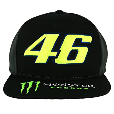 aebbd66c9f9 Image Unavailable. Valentino Rossi Monster Energy Grey-Black Dual Snapback  Cap ...