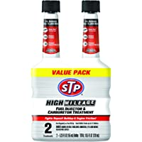 2-Pack STP High Milage Fuel Injector and Carburetor Treatment (5.25-oz)
