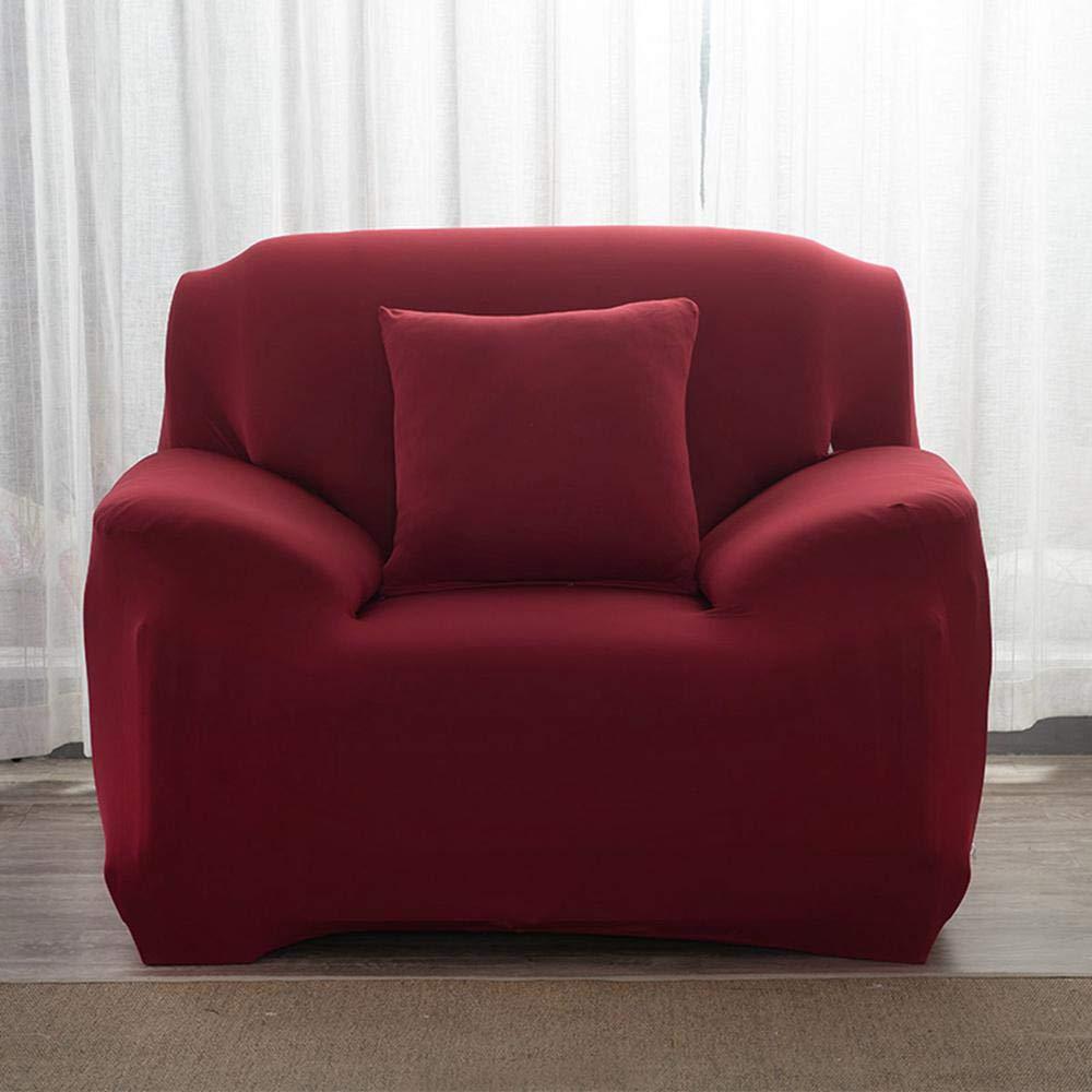 Fundas de Sofás Elástica Universal Se Adapta a Toda la Tela Cubierta Cubierta de Muebles Elegante y Duradera para Asientos de 1/2/3 Sillón LoveSeat (1 ...