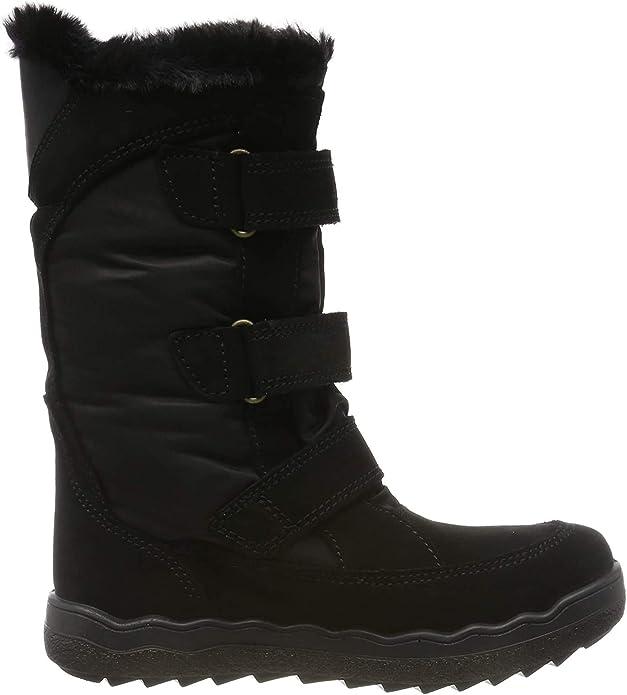 Primigi Girls' Pfz Gore-tex 43824 Snow Boots, Black (Nero/Nero 4382400), 2 UK,Primigi,4382400
