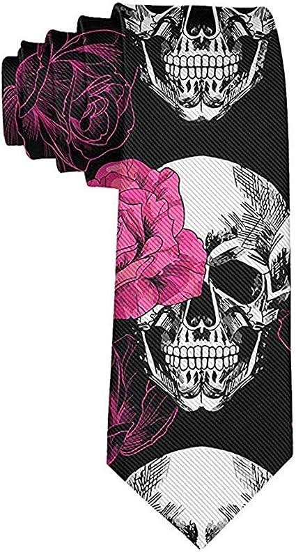 Cravate tête de mort 7