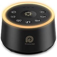 Máquina de ruido blanco – Dreamegg máquina de sonido para bebé niño adulto, máquina de ruido para dormir, luz nocturna…