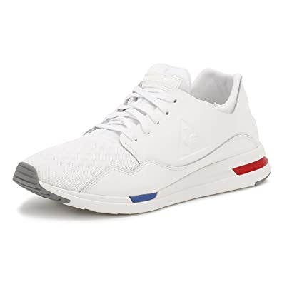 e2527e45982a Le Coq Sportif Mens Optical White LCS R Pure Trainers  Amazon.co.uk  Shoes    Bags