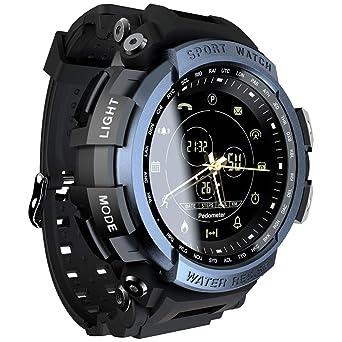 SZPZC Deporte Reloj Inteligente Vida Impermeable Bluetooth ...