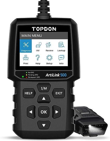 OBD2 Scanner TOPDON AL500
