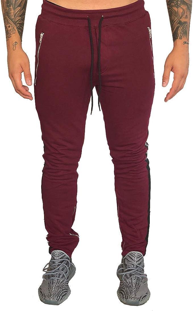 Deadstock Pantalones de chándal con rayas en las piernas ...