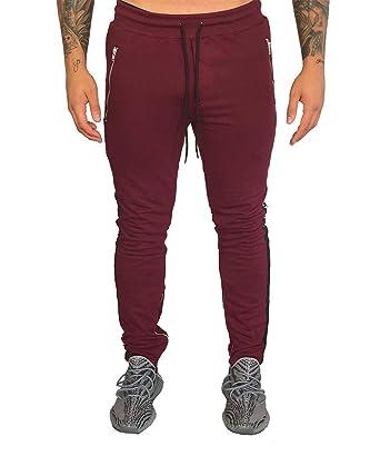 636ce1d69d86 Deadstock Trackpants mit Streifen an den Beinen – Lange Jogginghose für  Männer/Herren in verschiedenen Farben   Slim-Fit