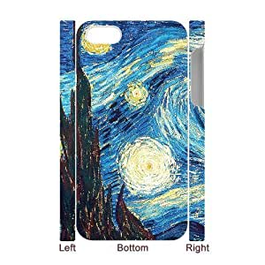 3D Bumper Plastic Case Of Vincent Van Gogh customized case For Iphone 4/4s by icecream design