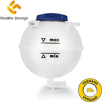 Madlife Garage - 1H0121407A Depósito de expansión de refrigerante: Amazon.es: Coche y moto