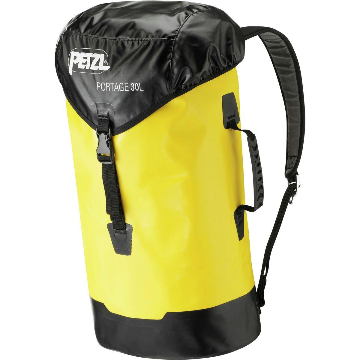 Petzl S43Y 030 PORTAGE Durable Bag, 30 L, Yellow/Black Petzl Company