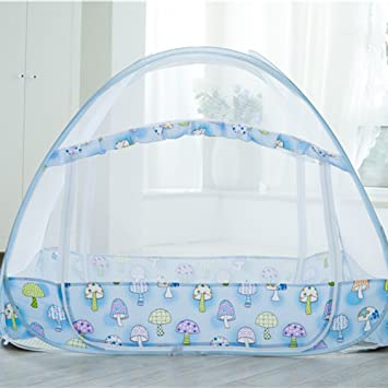 Sinotop Zippered Baby Mosquito Net Foldable Baby Bed Kids Tent Nursery Crib Canopy Netting Folding Cot & Amazon.com : Sinotop Zippered Baby Mosquito Net Foldable Baby Bed ...