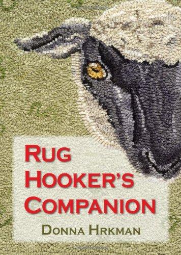 [Rug Hooker's Companion] (Leaves Hooked Rug)