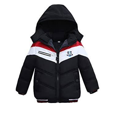 8a880c1a7 Zerototens Warm Coat for 1-5 Years Old Kids, Newborn Infant Toddler Baby  Boys Fashion Handsome Thick Coat Padded Winter Jacket Clothes Outdoor ...
