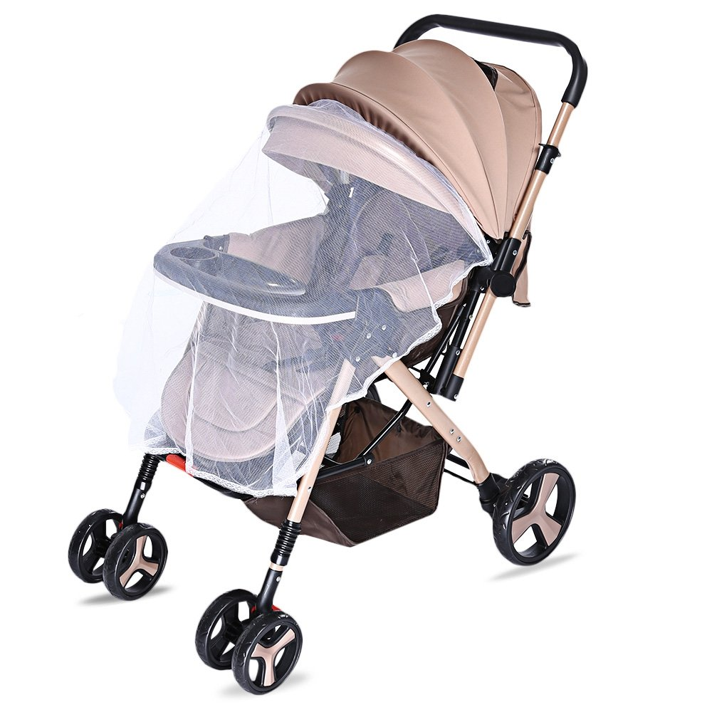 Ultra-light portable baby trolley can be sitting baby car baby trolley folding children's car umbrella bb baby carriage khaki