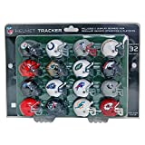 NFL Pro Football Helmet Playoff Track