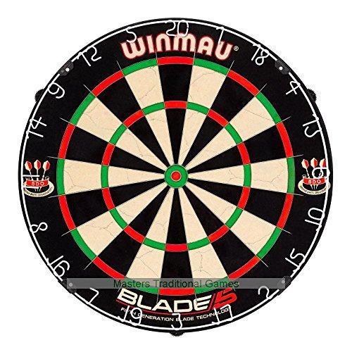 Winmau Blade 5 Dartboard with Rota-Lock