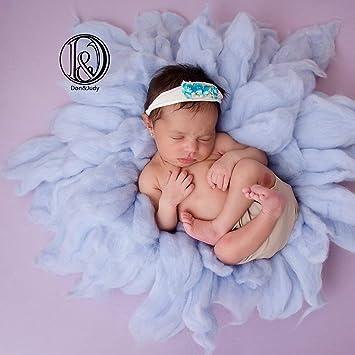 Baby Photo Props Newborn Photography Soft Plush Blanket Mat Gift Decoration HS