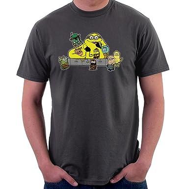 Banana The Hutt Minions Star Wars Jabba Men S T Shirt Amazon De