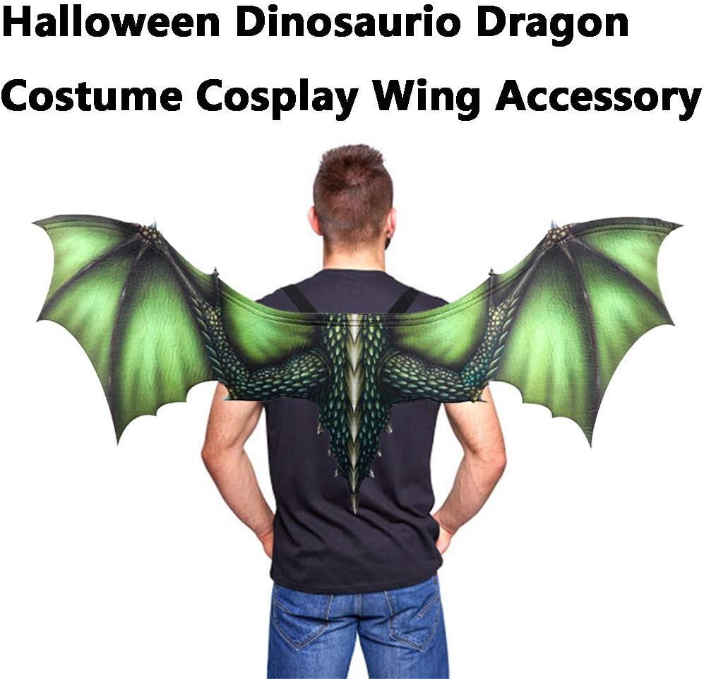TwoCC❤ Halloween Cosplay Alas Dinosaurios Fantasía Disfraz de ...