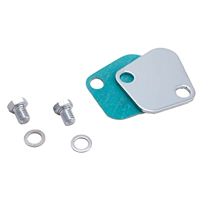 Spectre Performance 42473 Fuel Pump Block-Off Plate with Bolts for Big Block Chevy: Automotive