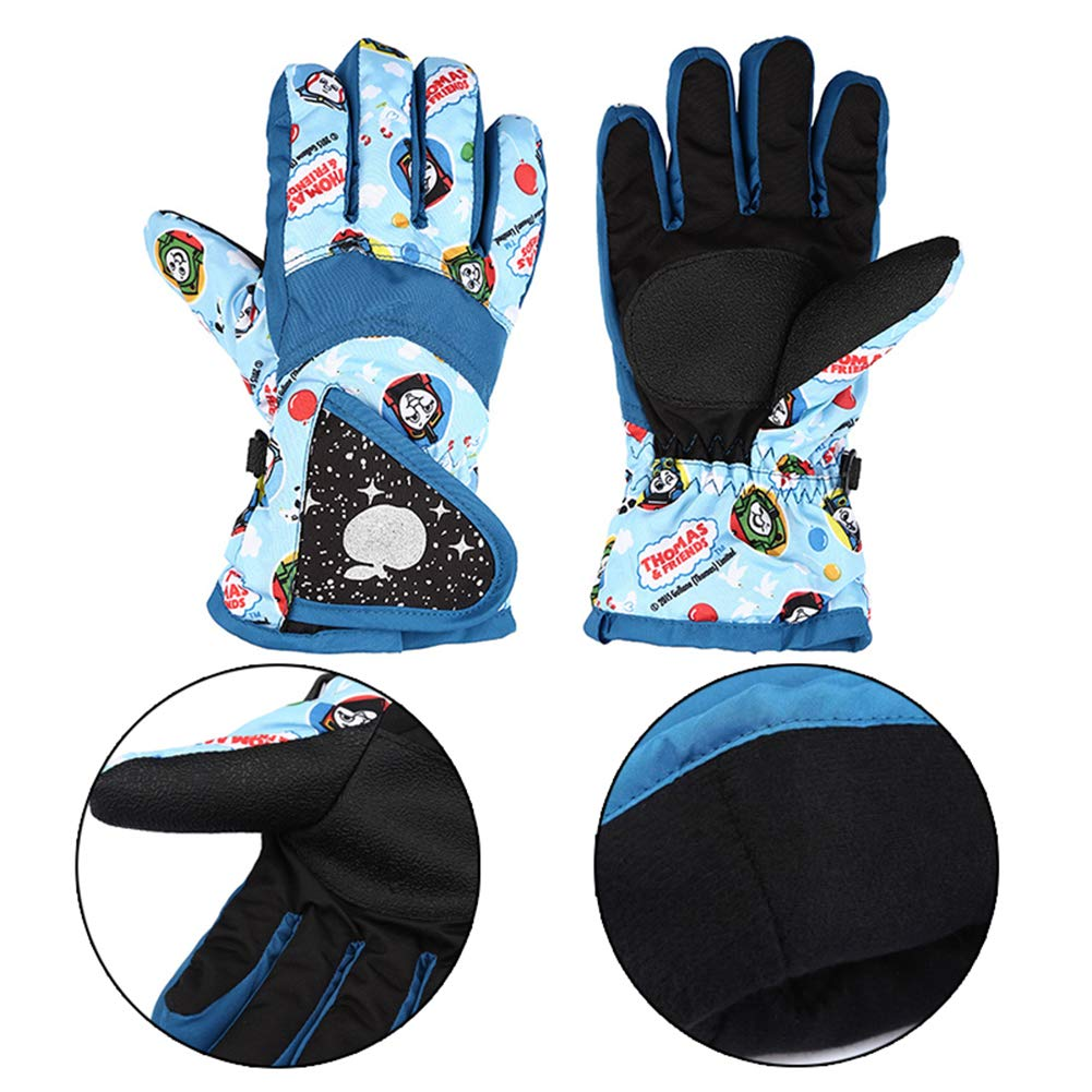 c6601c75d5fe5 Super Tag Gants de Ski Multicolores dhiver Gants de Course imperméables  pour Le Snowboard Chaud dhiver ...