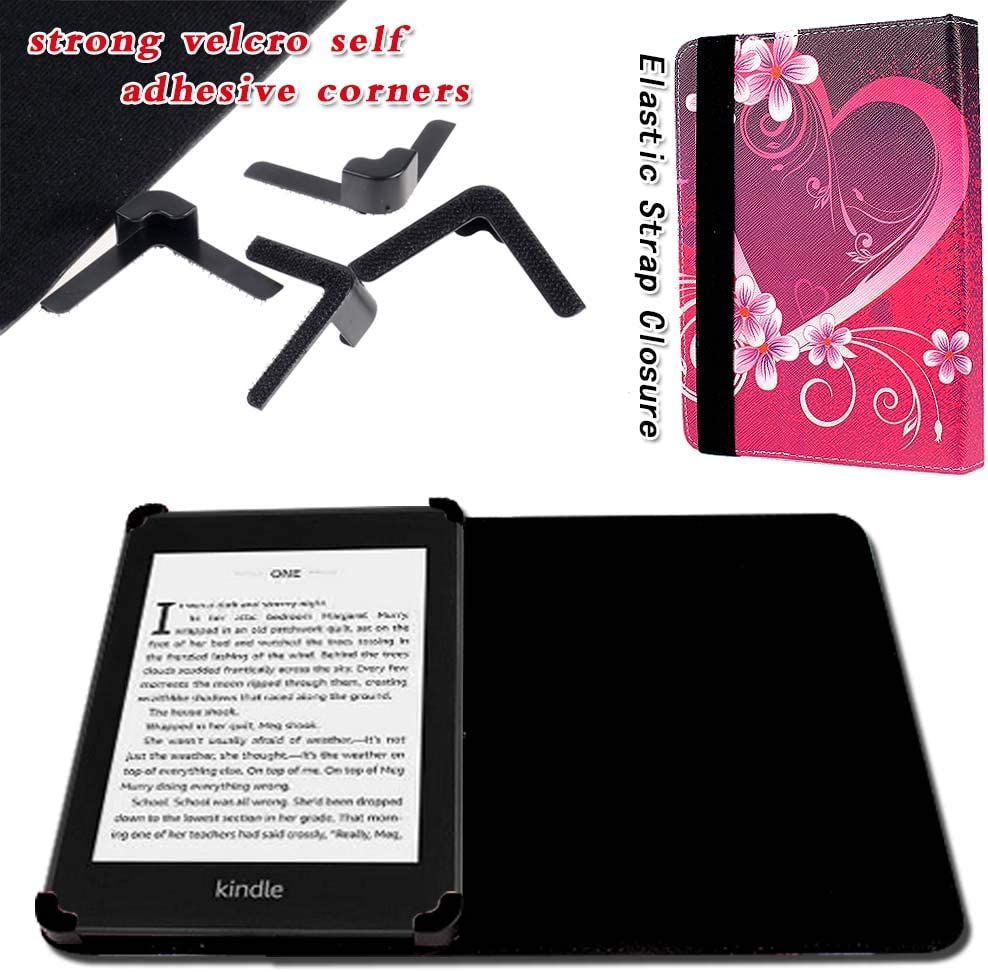 FINDING CASE For  Kindle Paperwhite 1//2//3//4 Gen,Leather Case PU Flip Folio Cover for  Kindle Paperwhite e-reader Black Owls Fits All 2012,2013,2015 and 2018 Versions