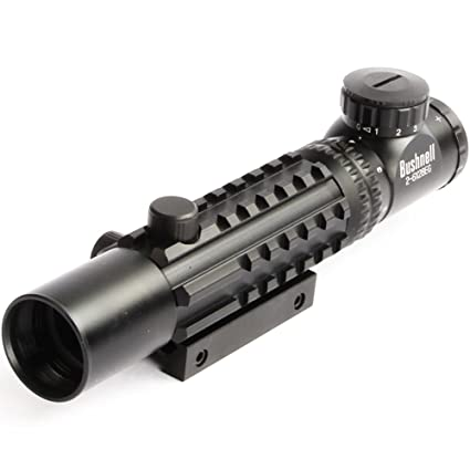 Amazon com: Hunting Optics 2-6X28EG Red Green Reflex Rangefinder