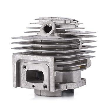 Kste Cylinder Piston Kits Zylinder Kit 44mm Kolben Kolben Ringe 44mm Zylinder Kolben Kit Ring Set For Tl52 Bg520 Kreissäge Motor Beauty