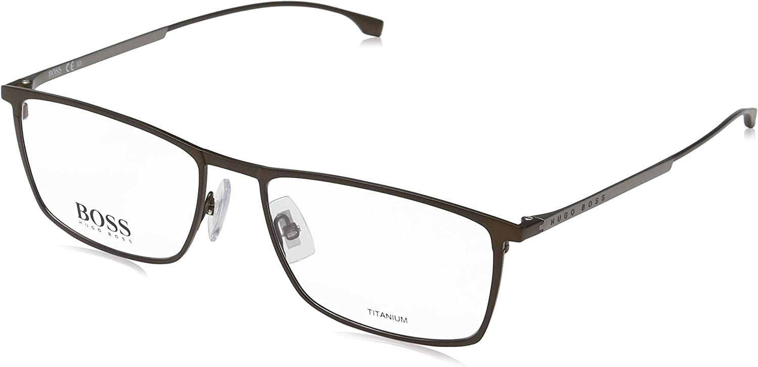 Eyeglasses Boss Black Boss 841 0R80 Semi Matte Dark Ruthenium