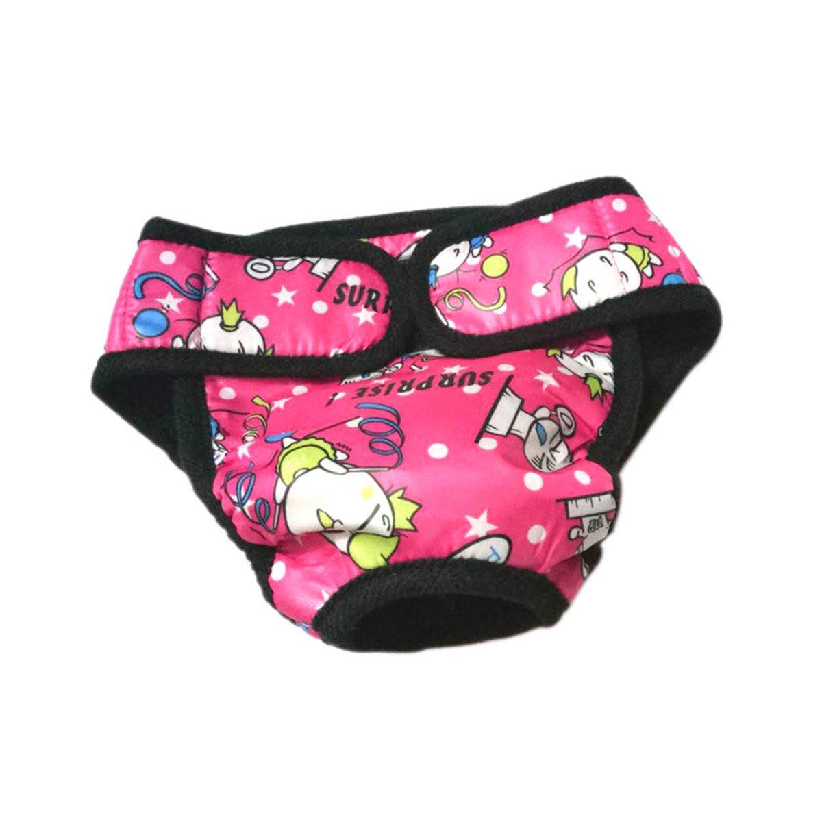Bragas Menstrual perro ueetek Braguitas pa/ñal sanitario higi/énicas para perros y animales 3pcs
