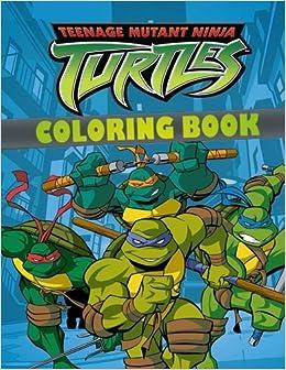 Amazon.com: TEENAGE MUTANT NINJA TURTLES coloring book ...