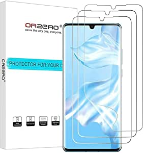 Huawei P30 Pro, Screen Protector Premium Quality Edge to Edge Case Friendly, High Definition Anti-Scratch Bubble-Free, 3 packs
