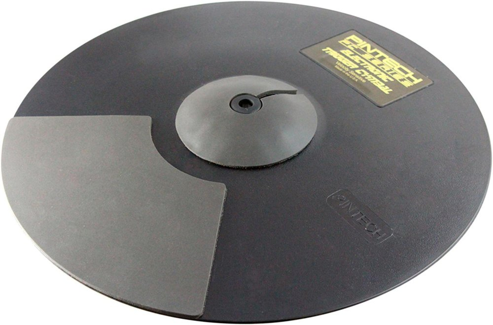 Pintech Percussion PC16-2 16'' Dual Zone Chokable Crash Cymbal & Cable