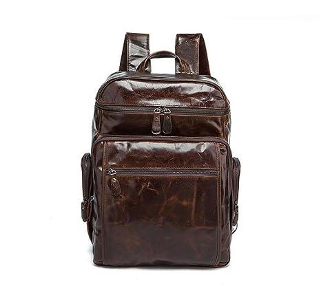 BAO Borsa a tracolla in pelle da uomo borsa da viaggio di grande capacità  5233c26c046
