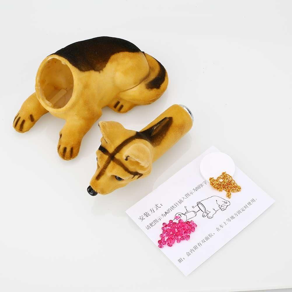 Mingruie Spotted Bobbing Nodding Nodder Moving Bobble Head Dog Car Home Interior Decor Doll Toy Lovely Soft Plush Bobbin