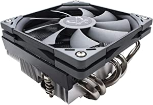Scythe Big Shuriken 3 Low Profile 120mm Air CPU Cooler(69mm Height), Intel LGA1151, AMD AM4/Ryzen