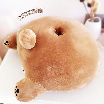 Amazon.com: Nianmei - Cojín de peluche con diseño de oso ...