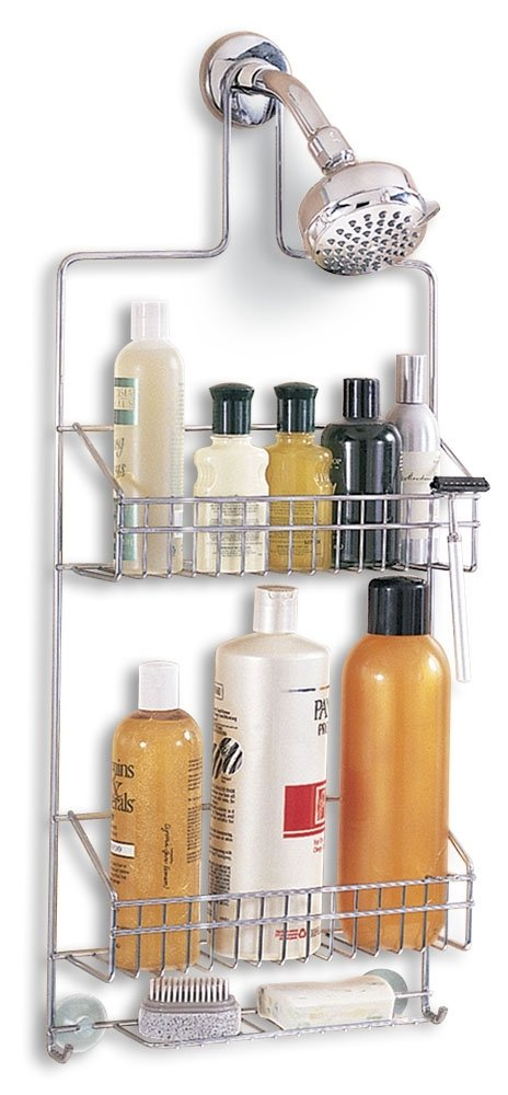Amazon.com: Better Houseware Deluxe Chrome Shower Caddy: Home & Kitchen