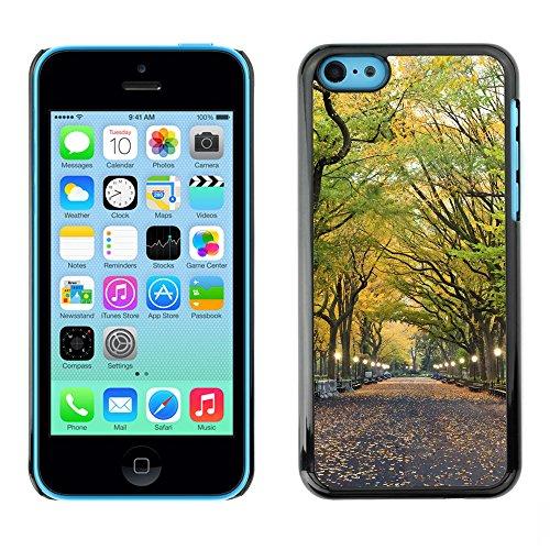 Hülle Case Schutzhülle Cover Premium Case // V00002648 Zentralpark // Apple iPhone 5C
