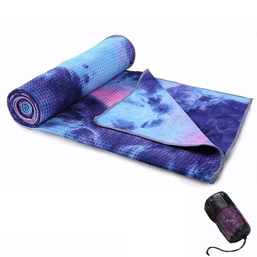 yoga Toalla Antideslizante, Absorbente de Sudor de ...